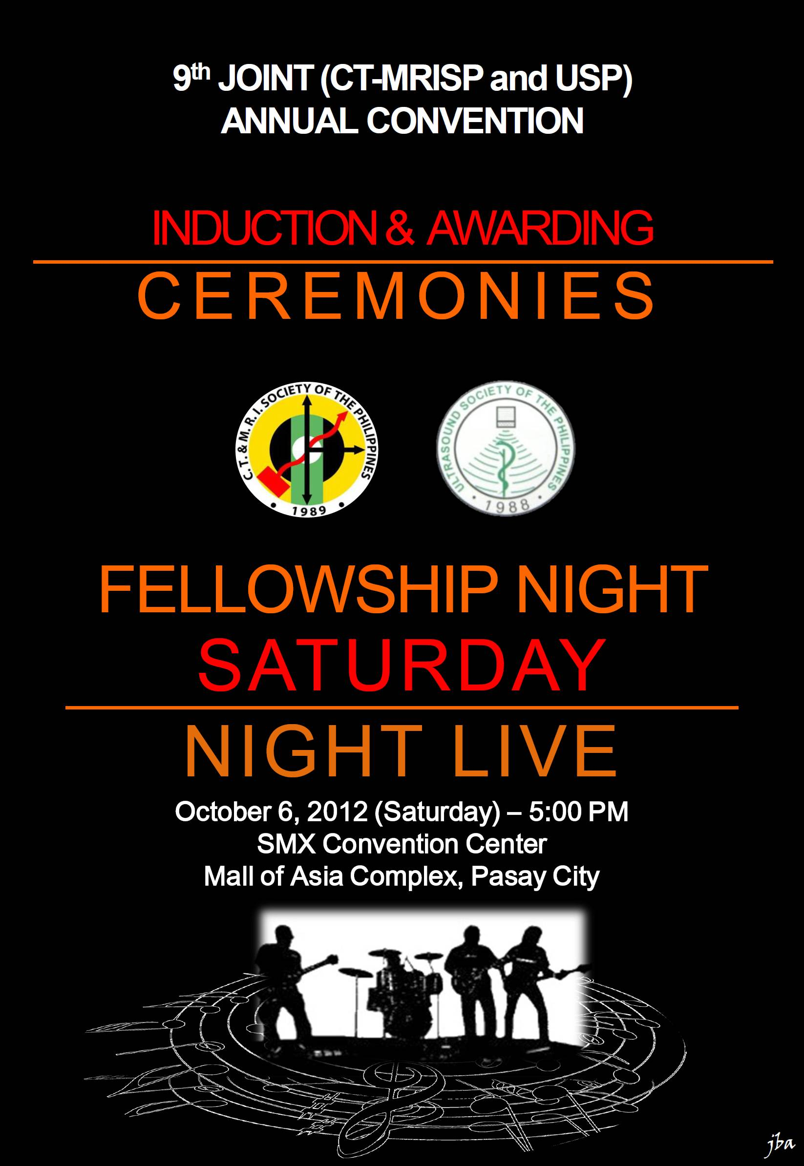 2012 Joint Induction and Fellowship Night
